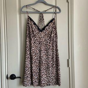 Cheetah print nightie XL